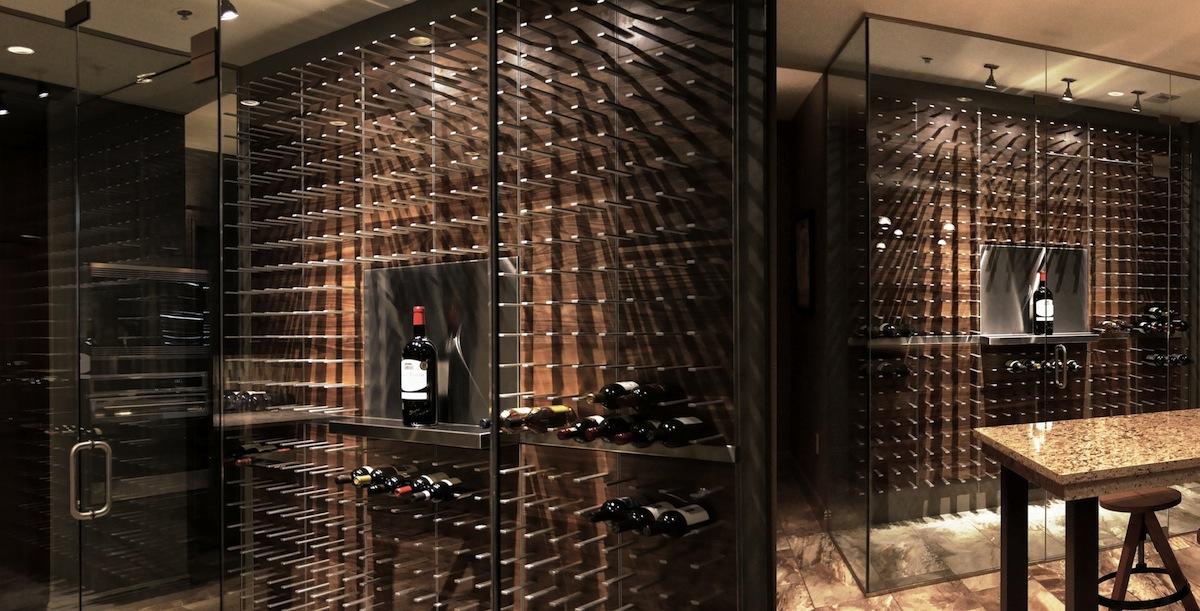 Wine cellar design stunning bespoke wine cellars for Wine cellar plans