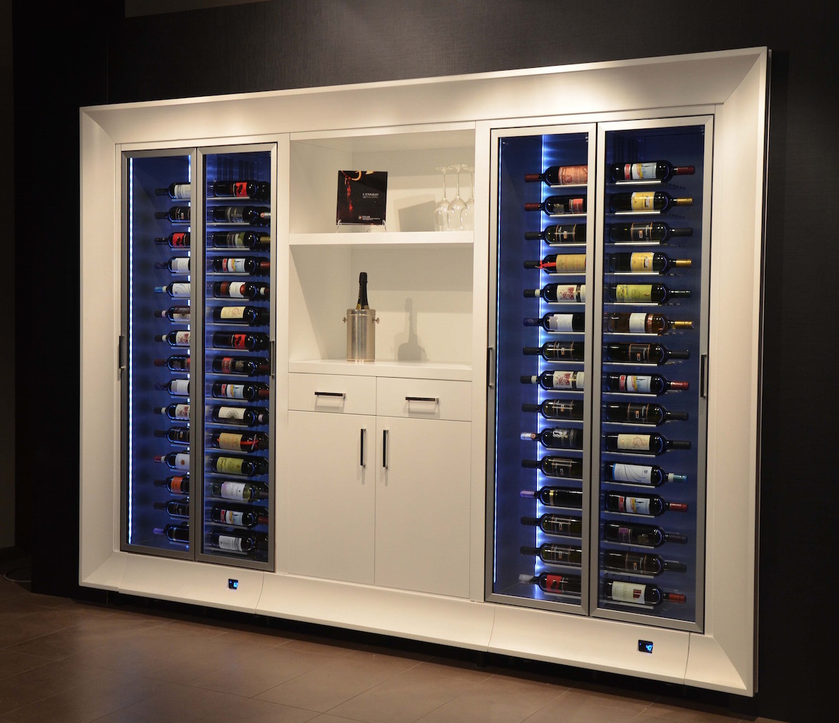 Now Available The UK Alongside The Equally Impressive Wine Wall And  Boutique Wine Fridge