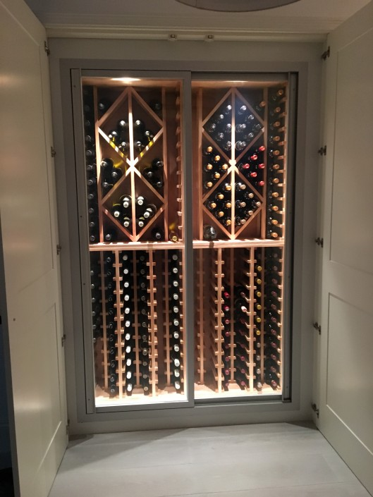 Ready made cellar design installations wines cellar - Readymade wall partitions ...