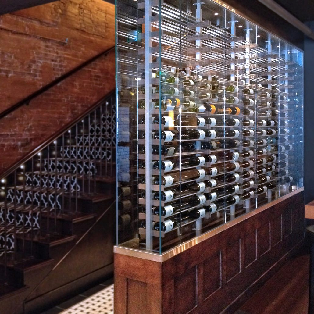 Glass Wine Walls Wines Cellar