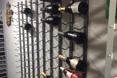 Metal wall mounted  wine  racks