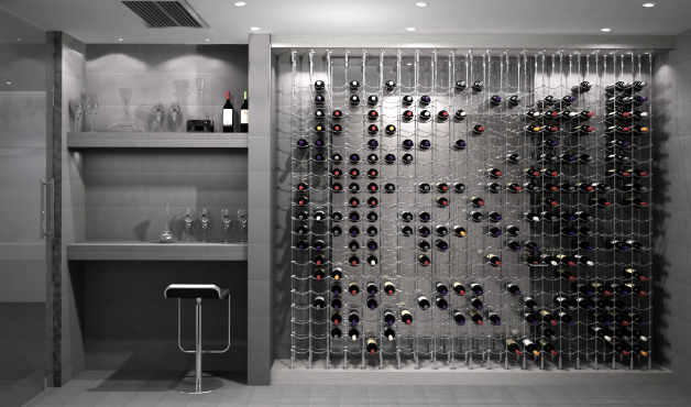 Cable Wine Cellar Design