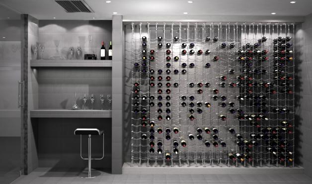 Cable Wine Cellar Design