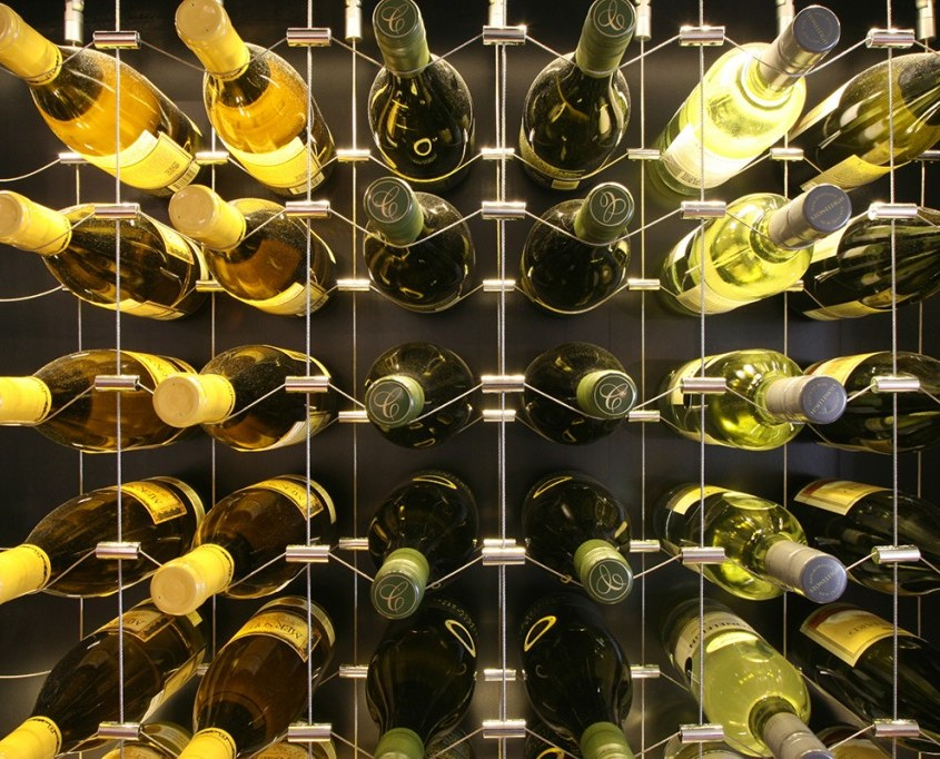 Cable Wine Racking
