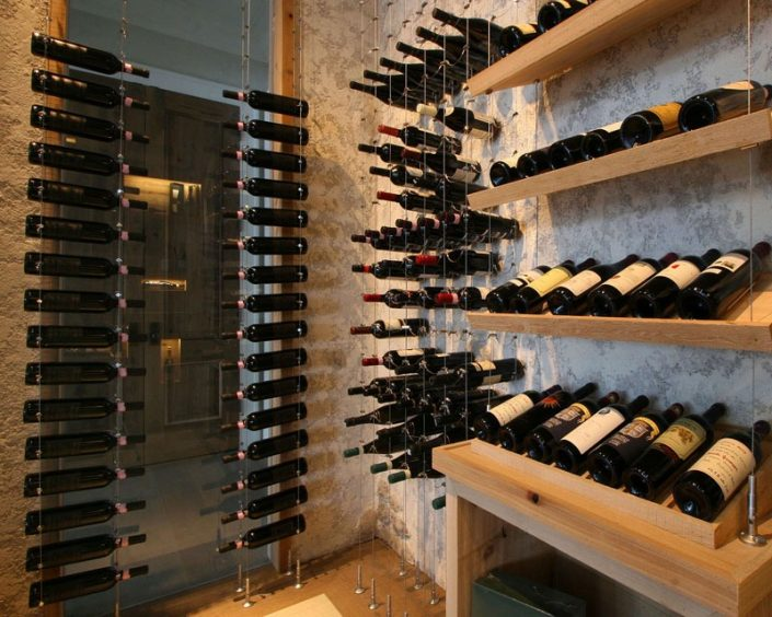 Cable-wine-racking