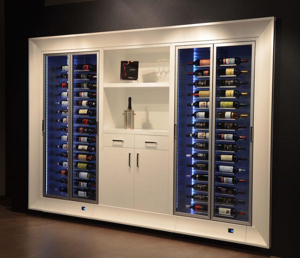 Modular Wine Wall
