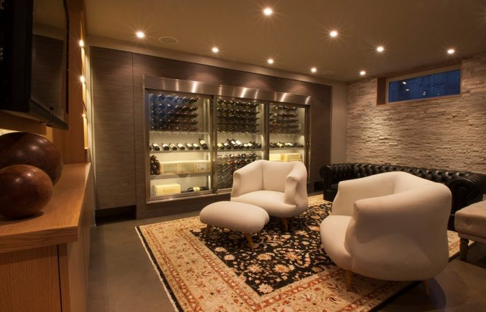Cable-Wine-System Wine Wall