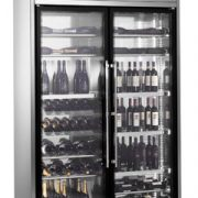 Freestanding Wine Wall