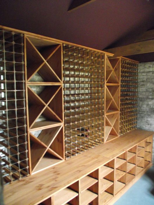 Metal-Wood-Wine-Racking-Wine-Cubes-Case-Racking-Combination