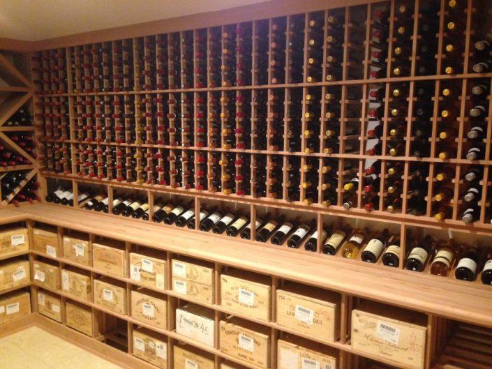 Oak Wine Racking