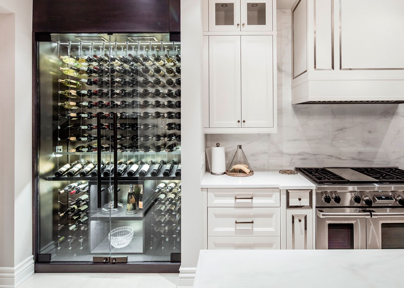 Kitchen Cable Wine Fridge